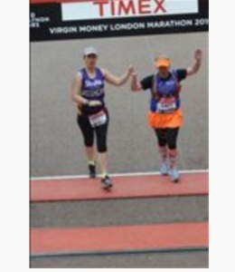 London Marathon 2015 Finish Line
