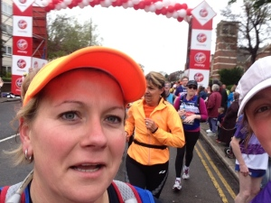 London Marathon 2015 - Mile 1