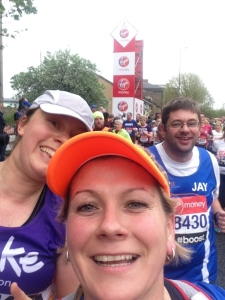 London Marathon 2015 - Mile 3