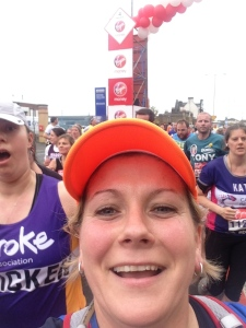 London Marathon 2015 - Mile 4