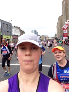 London Marathon 2015 - Mile 21