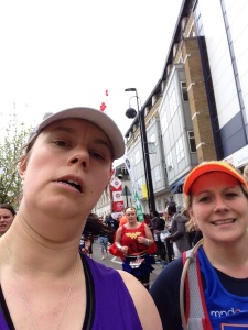London Marathon 2015 - Mile 20