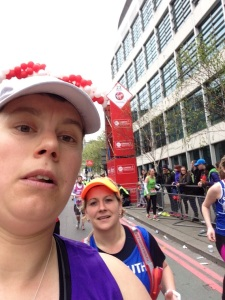London Marathon 2015 - Mile 23