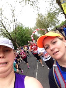 London Marathon 2015 - Mile 17