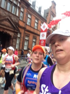 London Marathon 2015 - Mile 12