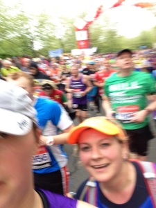 London Marathon 2015 - Mile 8