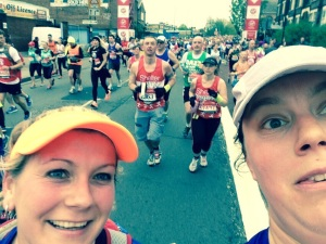 London Marathon 2015 - Mile 9