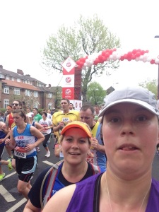 London Marathon 2015 - Mile 11