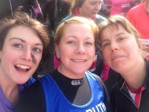 Brighton Half Marathon startling selfie