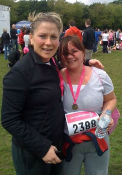 Race for Life Finisher's photo