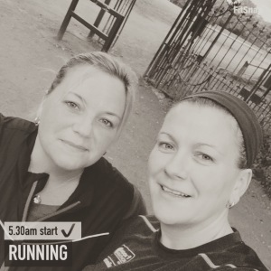 Running with my Sister